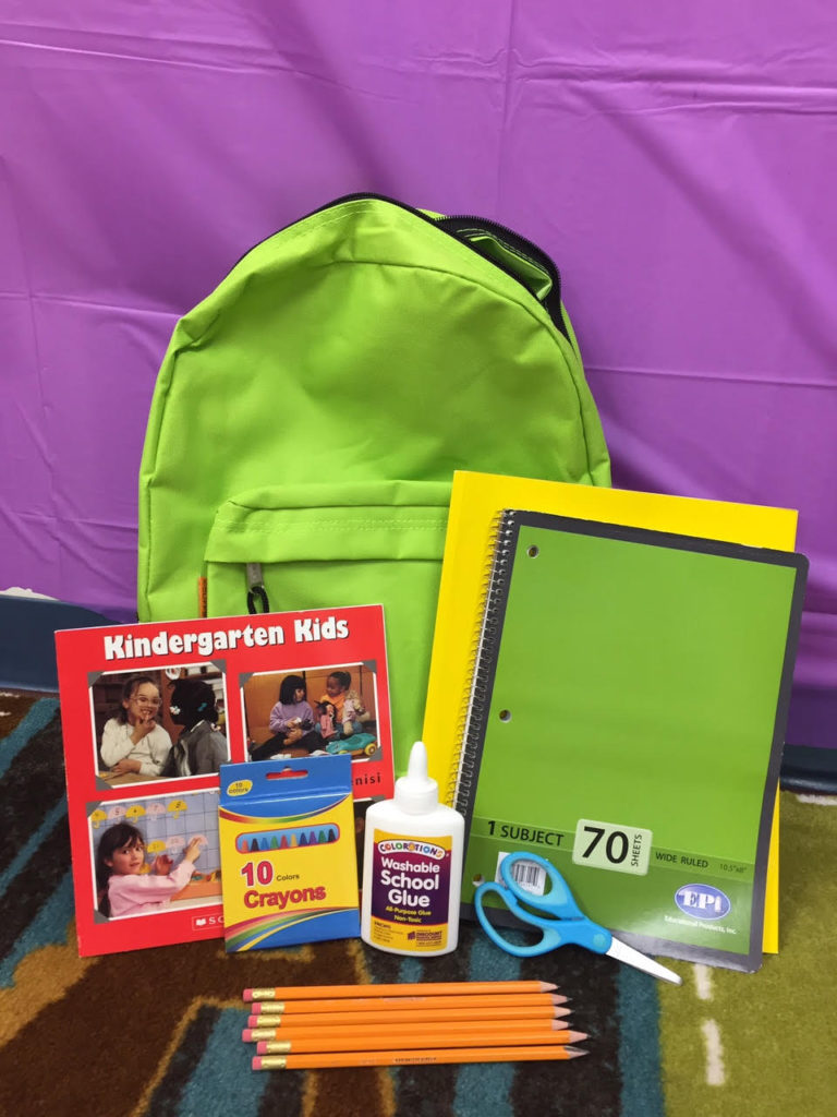 JLGA Helps Purchase Backpacks for Riverbend Head Start