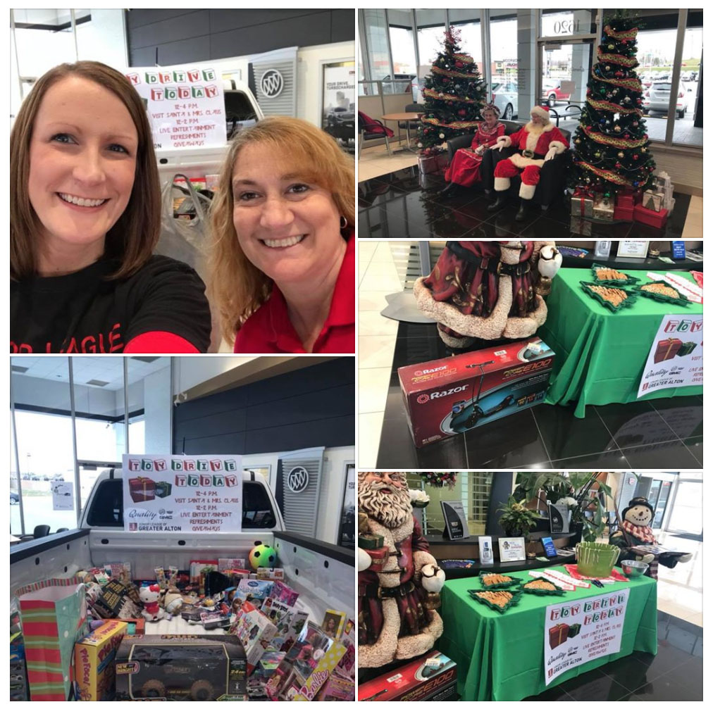 JLGA & Quality GMC Fill Santa's Sleigh with Joy