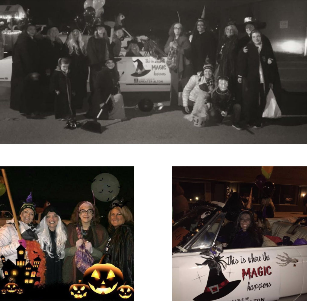 Halloween Parade Made Magical by the Witches of JLGA