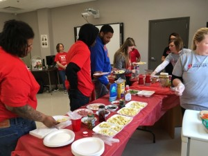 L&C Family Literacy Healthy Food Day